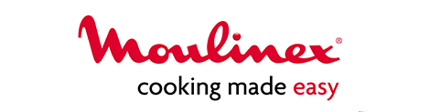 Moulinex website logotype and slogan