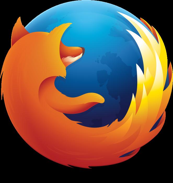 Mozilla Firefox emblem, logotype