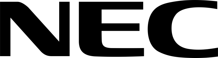 NEC logo, black