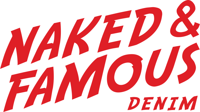 Naked & Famous Denim logo, logotype
