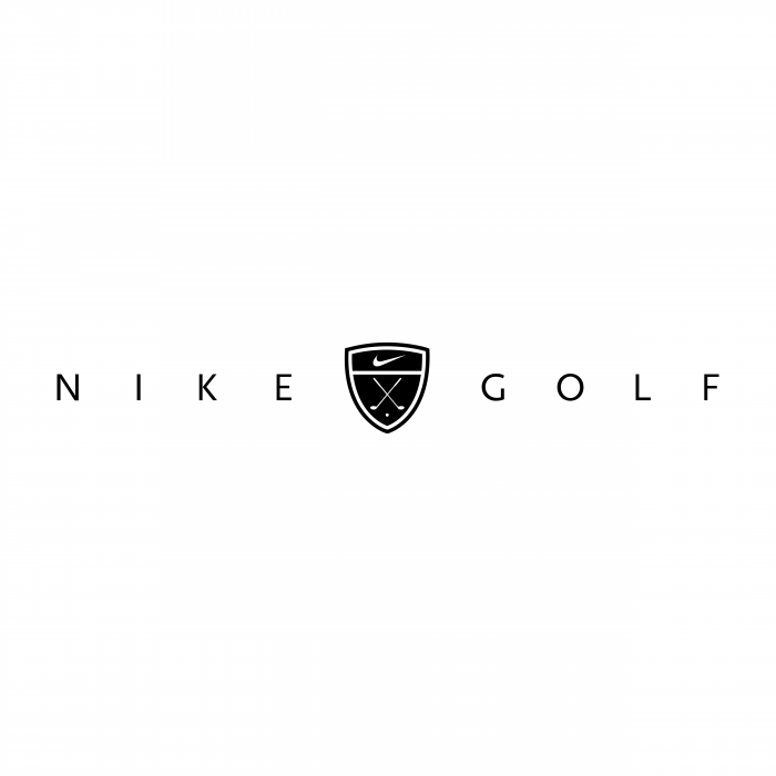 Nike Golf logo black