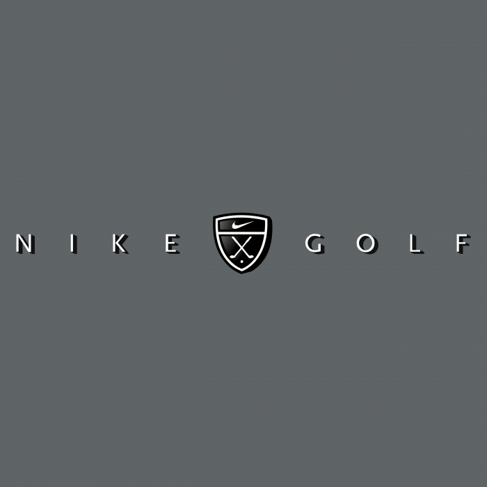 Nike Golf logo grey