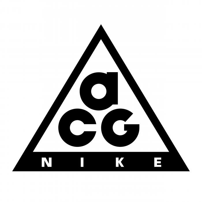 Nike logo acg