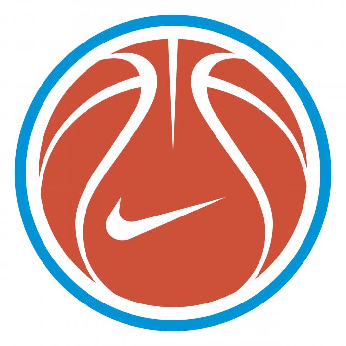 Nike logo ball