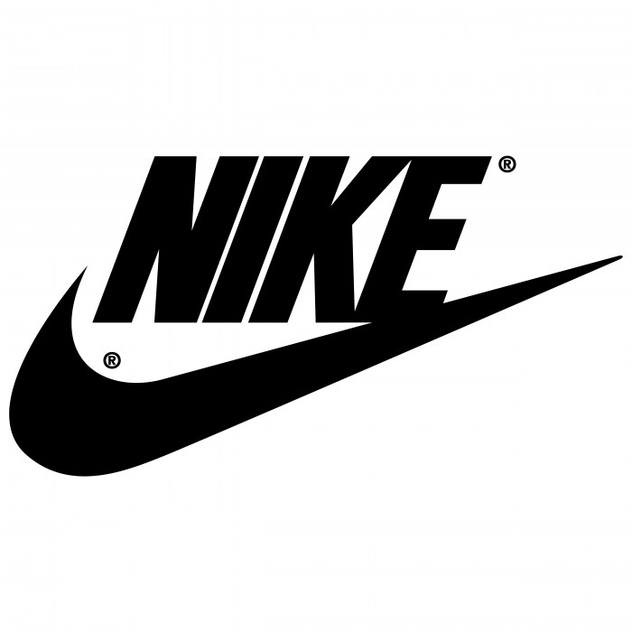 Nike logo black