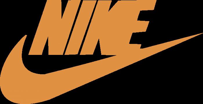 Nike logo orange