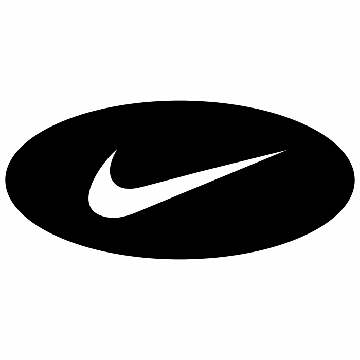Nike logo oval