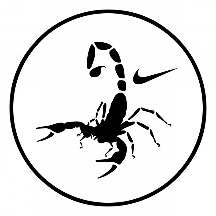 Nike logo scorpio