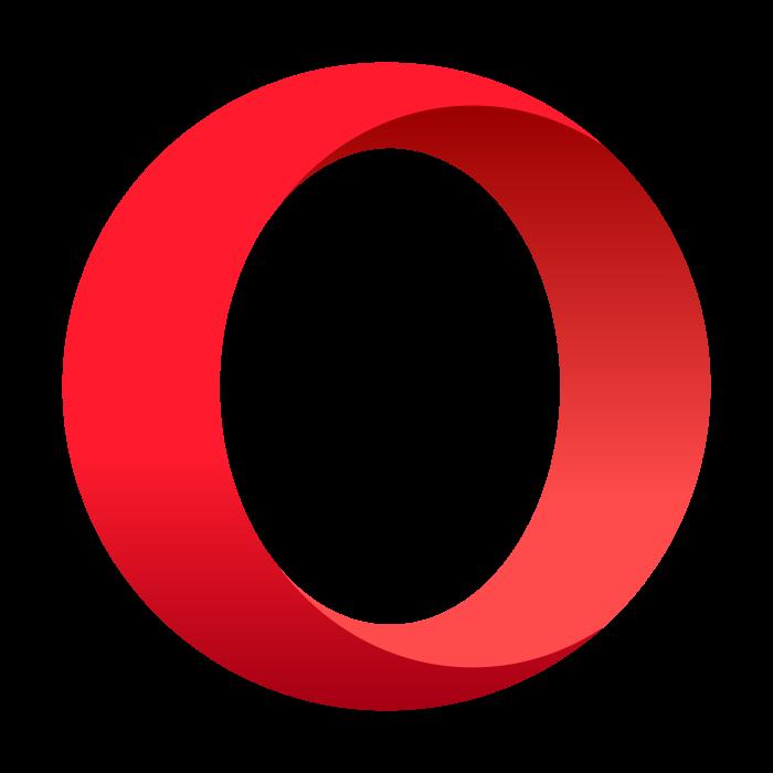 Opera logo, icon