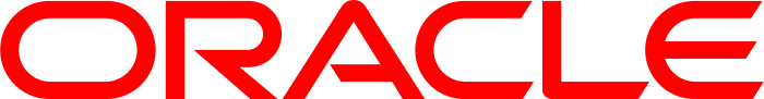 Oracle logo, logotype, wordmark
