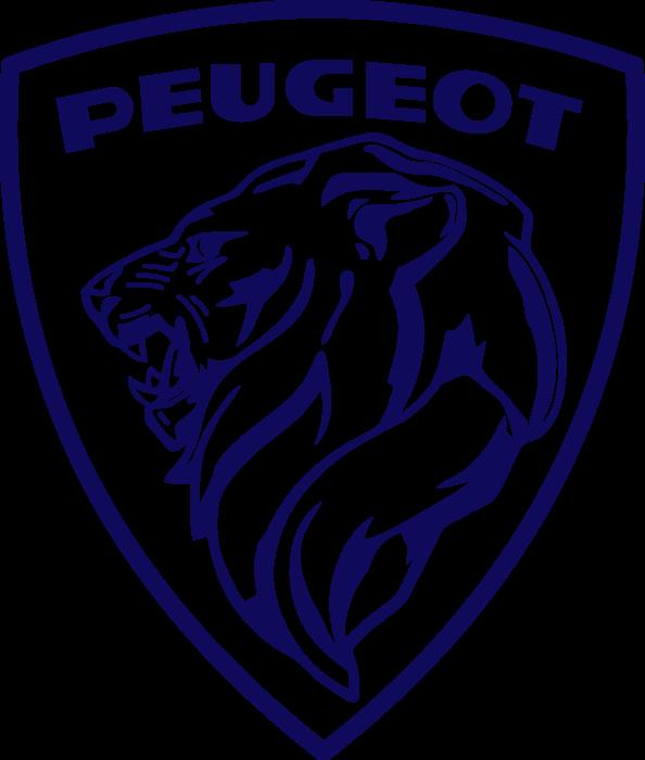 Peugeot Logo 1960