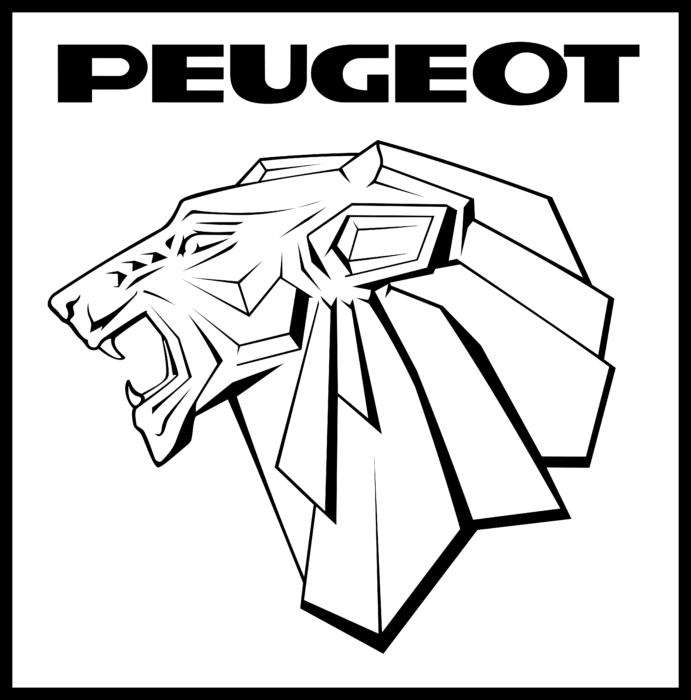 Peugeot Logo 1964
