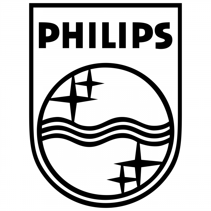 Philips logo black