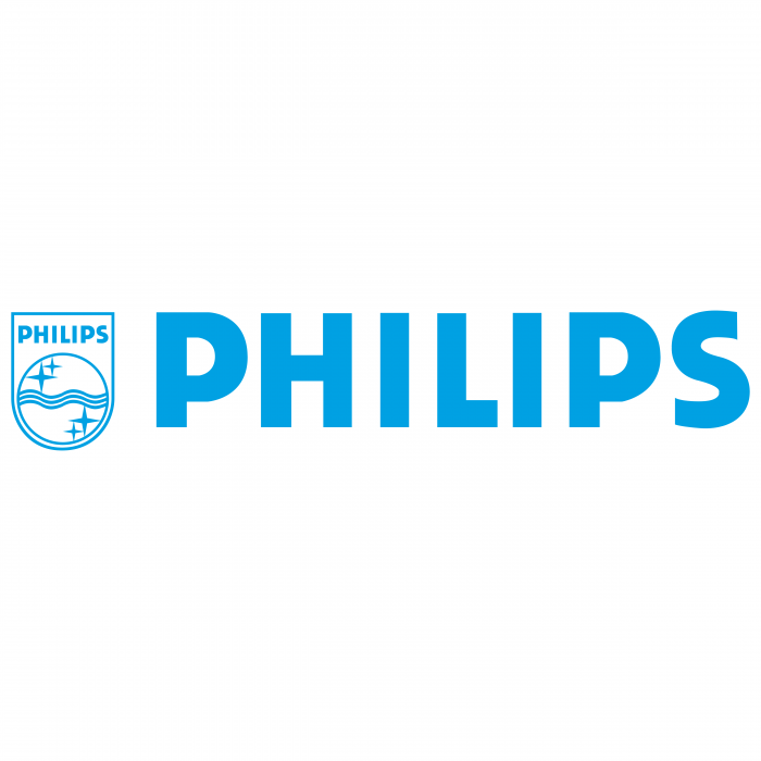 Philips logo blue