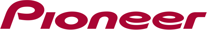 Pioneer logo, logotype, emblem, wordmark