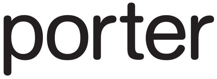 Porter Airlines logo, logotype, wordmark