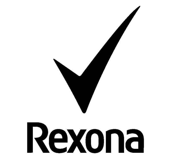 Rexona logotype 2, black