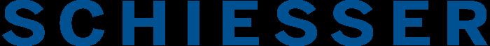 Schiesser logo, logotype, emblem