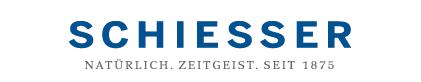 Schiesser website logo with slogan