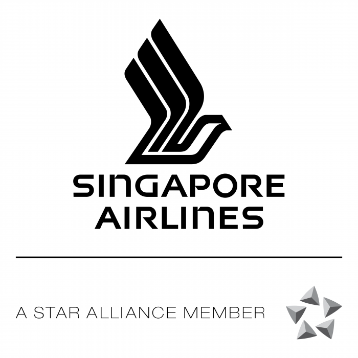 Singapore Airlines logo black