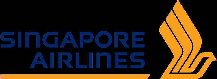 Singapore Airlines logo, emblem, logotype, bright