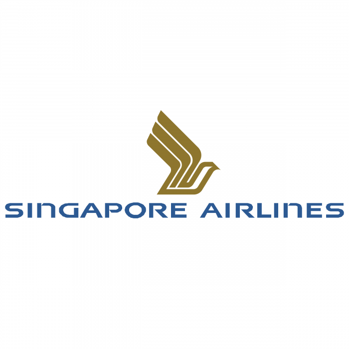 Singapore Airlines logo gold