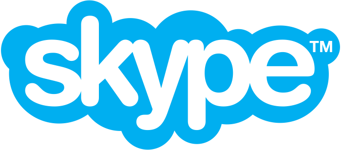 Skype logo, logotype, emblem