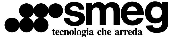 Smeg logotype and slogan (italian)