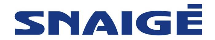 Snaige, Snaigė logo 1