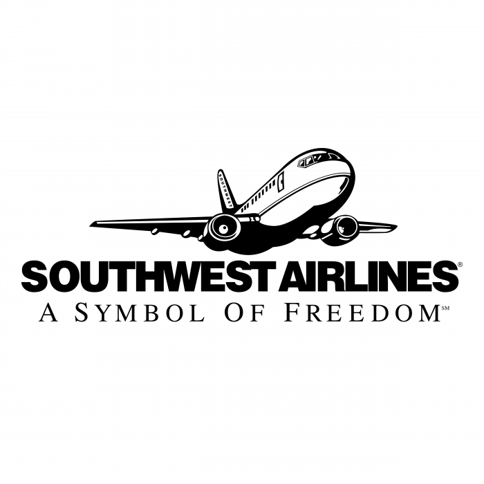 Southwest Airlines logo black