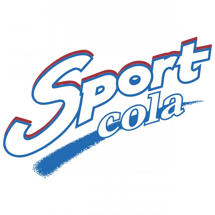 Sport Cola logo blue