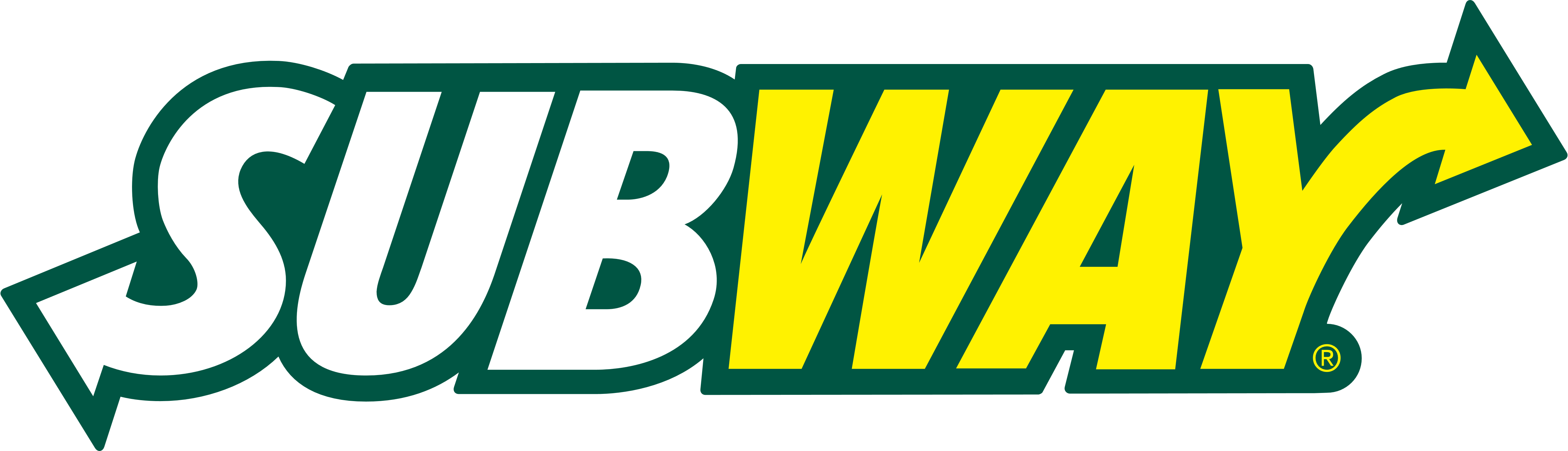 Subway logo, logotype, emblem