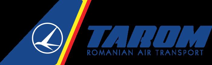 TAROM logo, logotype, emblem