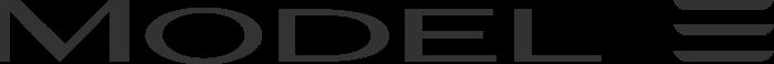 Tesla logo model