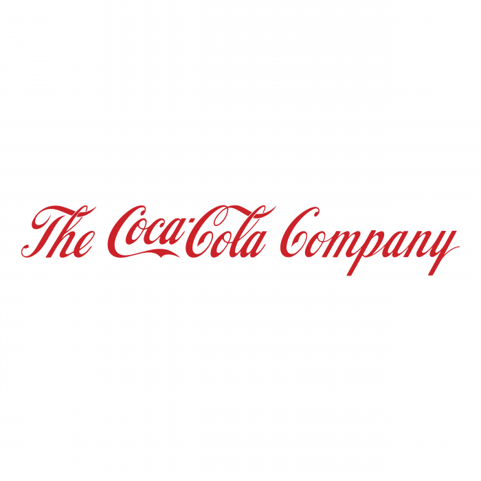 The Coca Cola Company logo red