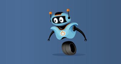TinEye robot logo