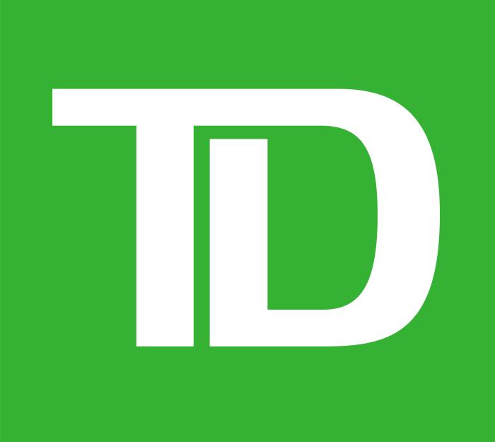 Toronto-Dominion, TD Bank logo, logotype, emblem