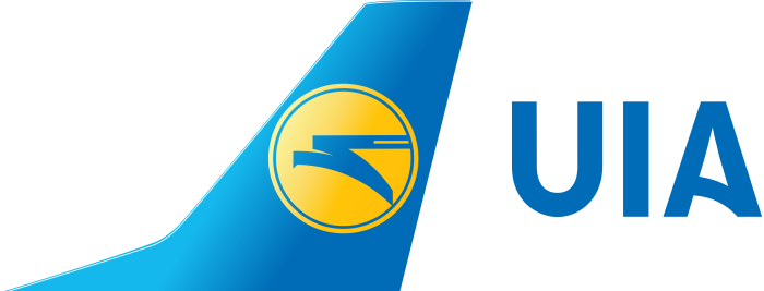 Ukraine International Airlines, UIA logo, logotype, emblem