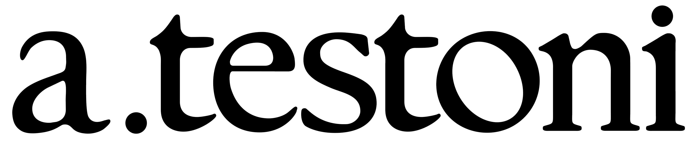a.testoni logo. logotype. emblem