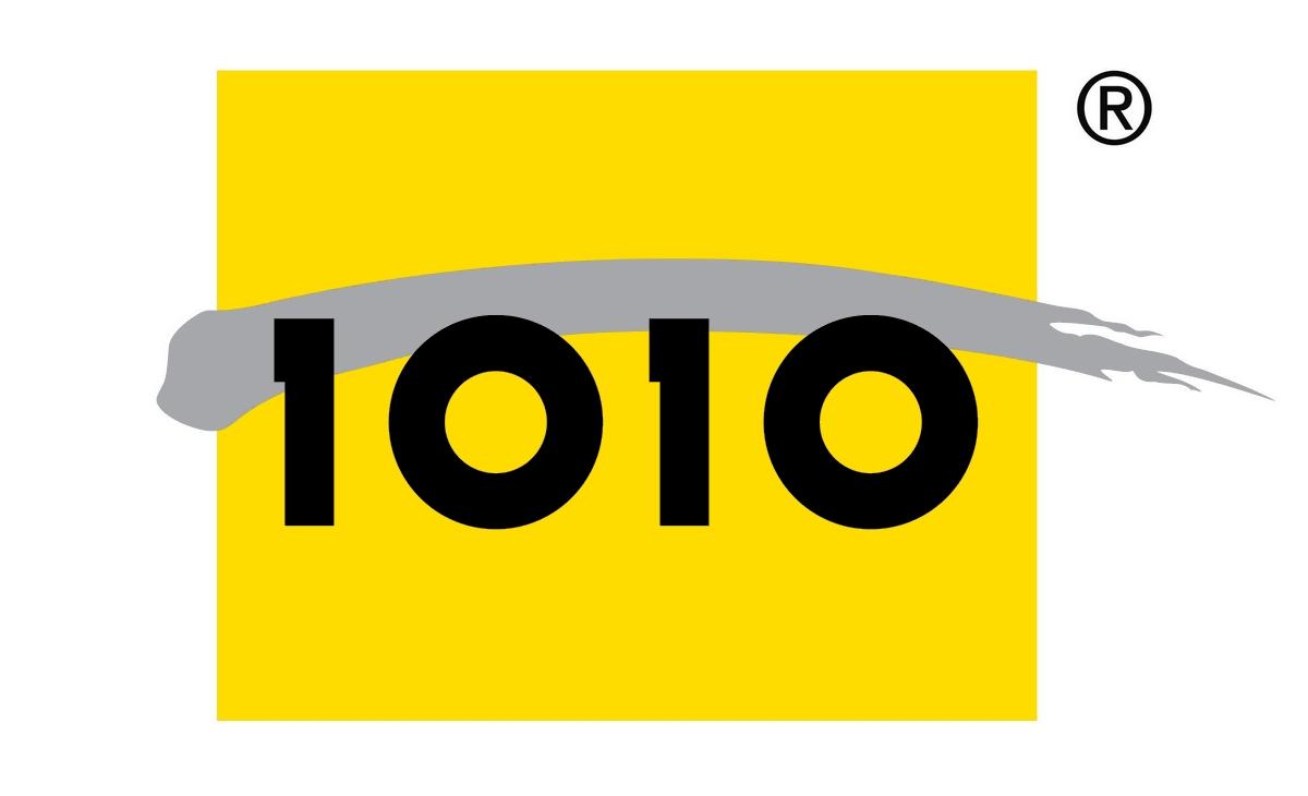 1010 logo, logotype
