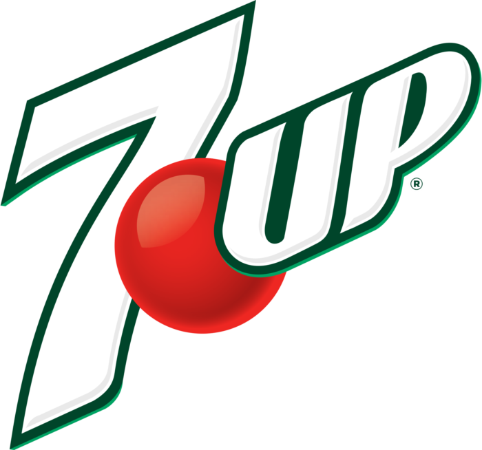 7 Up logo, logotype (USA)