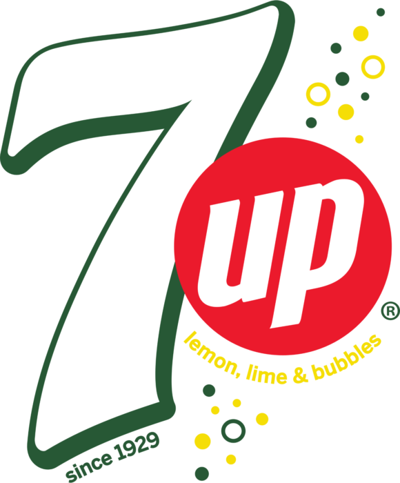 7 Up logo, logotype, emblem, symbol