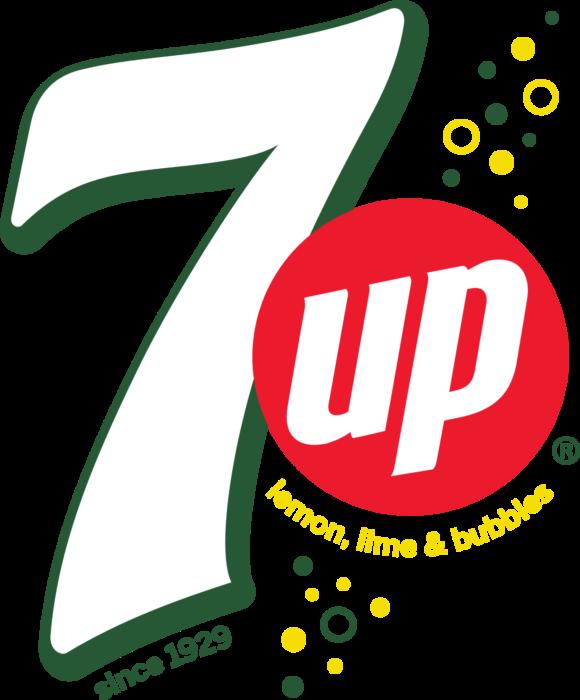 7 Up logo, logotype, emblem, symbol