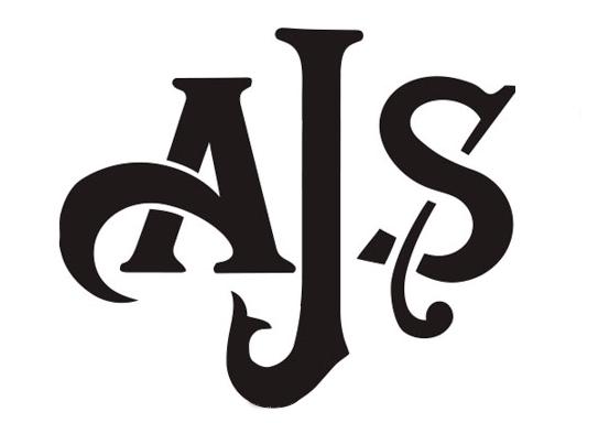AJS Motorcycles, symbol, logo, logotype, emblem