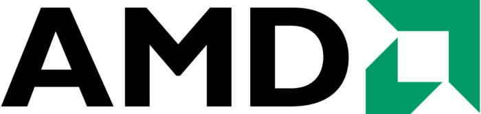 AMD logo, logotype