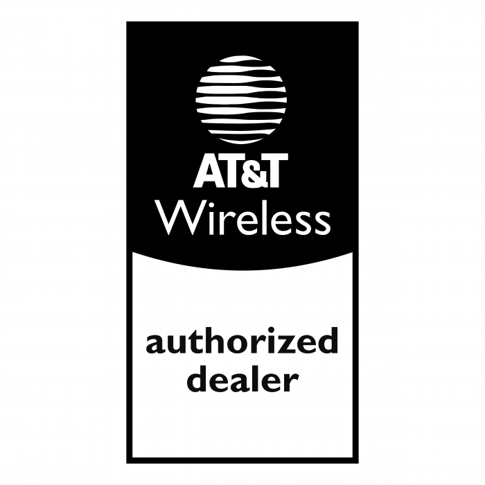 AT&T Wireless logo vertical