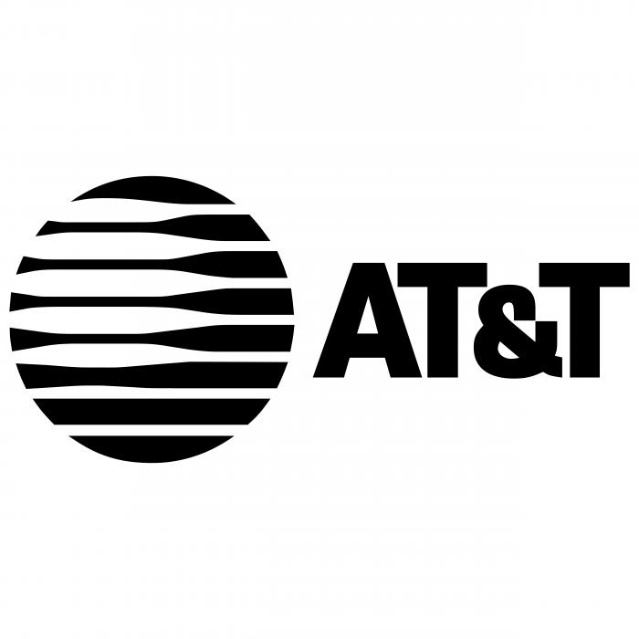 AT&T logo black