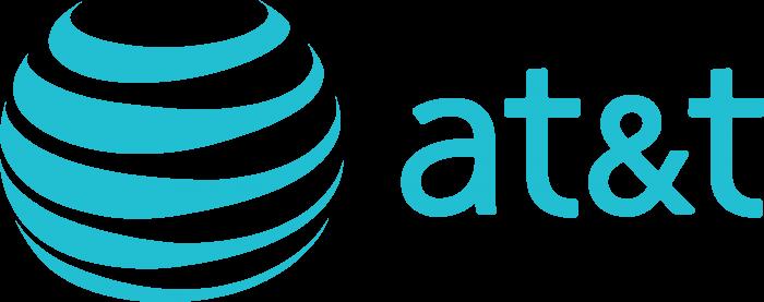 AT&T logo blue