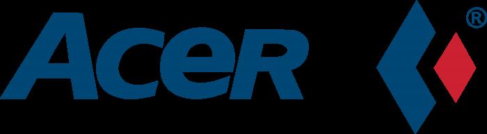 Acer logo blue