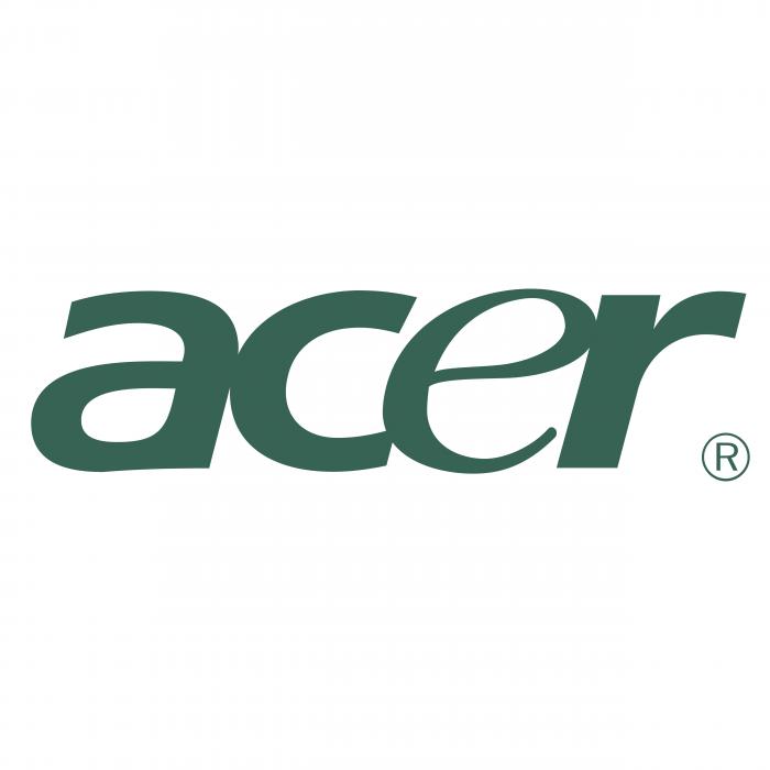 Acer logo grey